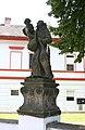Mariánské Radčice - socha na mostě Felix.JPG