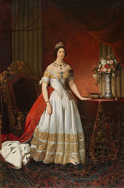 File:Maria Antonia of the Two Sicilies by Morelli 1840.jpg