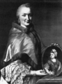 Maria Franziska of Sulzbach with a portrait of her son.png
