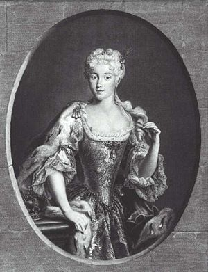 Maria Clementina Sobieska - Image: Maria Klementyna Sobieska