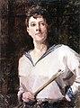 Marianne von Werefkin - Self-Portrait in a Sailor's Blouse.jpg