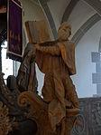 Marienstiftskirche Lich Kanzel Thomas von Aquin 08.JPG