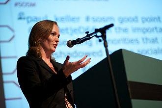 Marietje Schaake - Marietje Schaake in 2010
