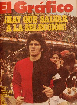 Mario Zanabria - Mario Zanabria en Newell's Old Boys en 1974.