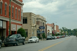 Marion Historic District (Marion, South Carolina) - Image: Marion SC Historic District