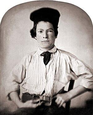 Mark Twain - Samuel Clemens, age 15