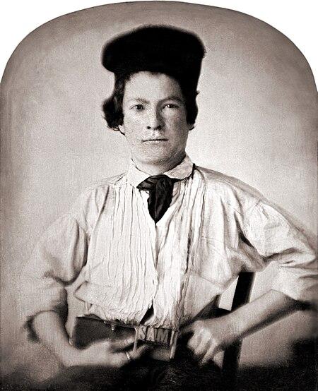 マーク・トウェイン(Mark Twain)15歳 Wikipediaより