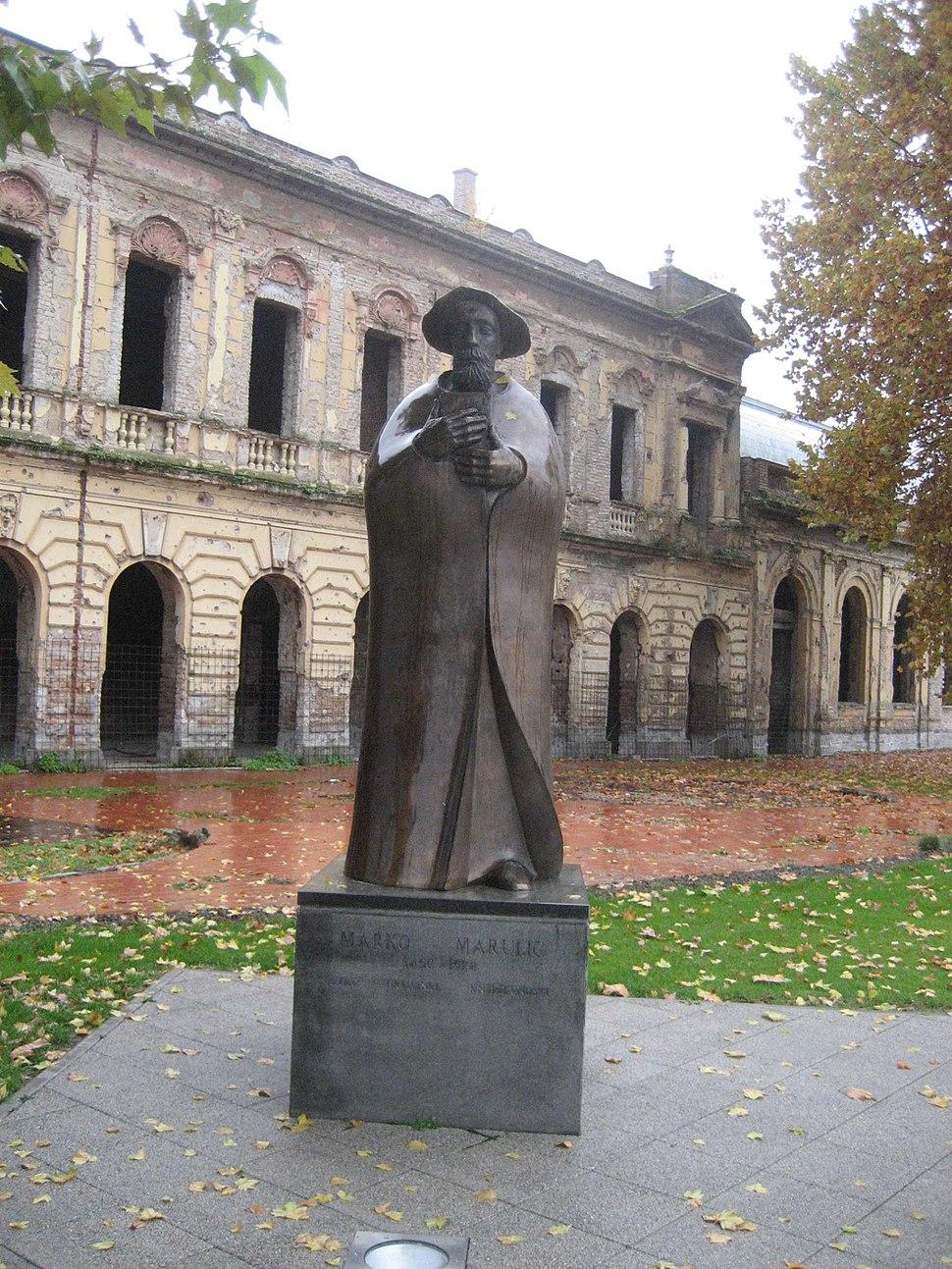 Marko Marulic Denkmal, Vukovar