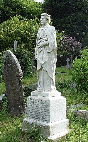 Darwen Cemetery - Image: Martha Jane Bury