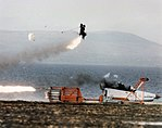 Martin-Baker ejection seat test for Pilatus PC-9 Mk 2 c1993.jpg