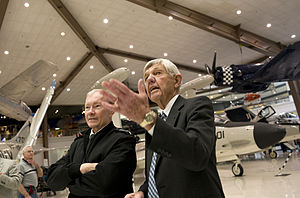 Martin Dempsey met with Bob Rasmussen at the Naval Aviation Museum.jpg