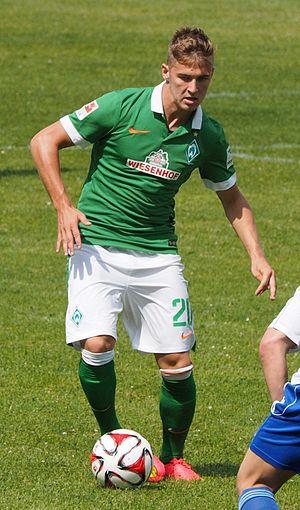 Martin Kobylański - Kobylański with Werder Bremen in 2014