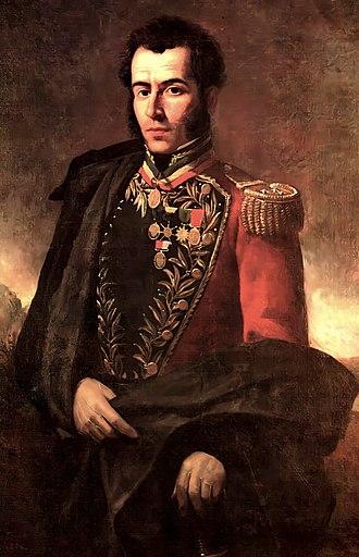 Antonio José de Sucre - Portrait by Martín Tovar y Tovar