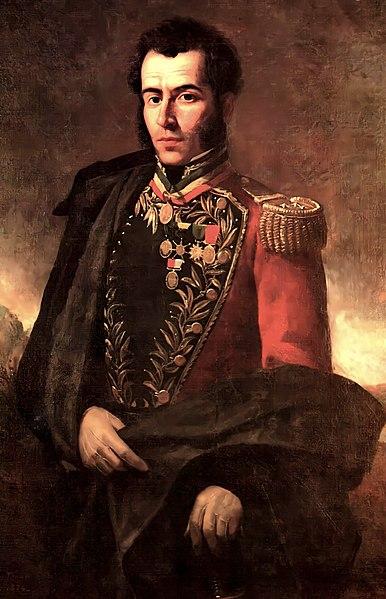 Retrato de Antonio José de Sucre.