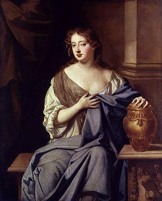 Moll Davis - Moll Davis, portrait after Sir Peter Lely, circa 1665-1670