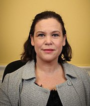Party leader Mary Lou McDonald