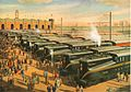 Mass Transportation (Army-Navy Game) by Grif Teller, 1955.jpg