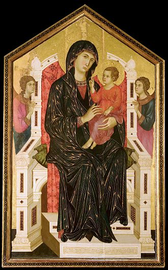 Mariological papal documents - Madonna and Child, Master of Badia a Isola, c.1300