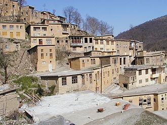 Masuleh - Image: Masuleh Iran Village in the Elburs Mountains
