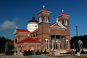 Saint Anthony Cathedral Basilica - Image: Matter Ecclesia