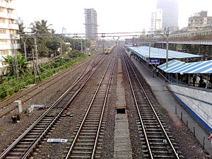 Matunga Road railway station - Image: Matunga Road railway station Overview