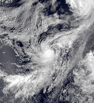 1981 Pacific hurricane season - Image: Max oct 7 1981 2221Z