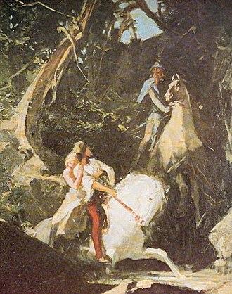 Maximilian Pirner - Image: Maxmilian Pirner Milenci (1885)