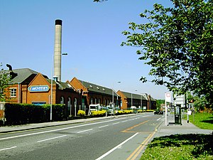 McVitie's - Image: Mc Vitie's Biscuit Factory, Wellington Road North, Stockport geograph.org.uk 803875