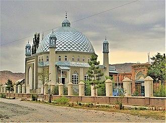 Kyrgyz people - A mosque in Tokmok, Kyrgyzstan