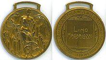 Medaglia commemorativa della Marcia su Roma, istituita nel 1923.