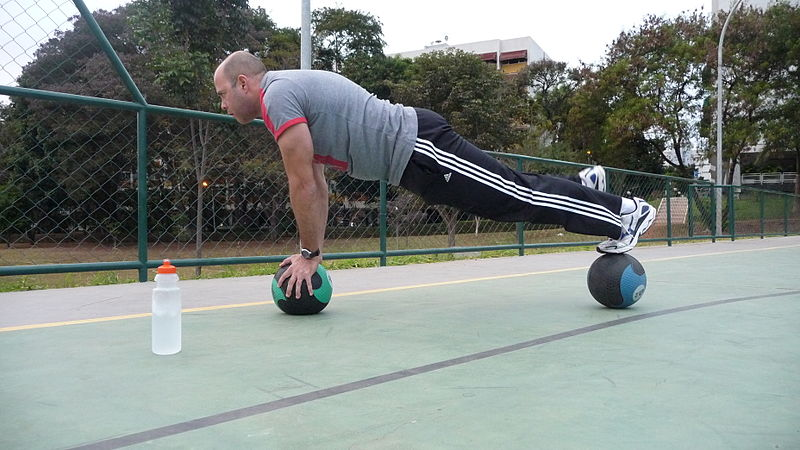 File:Medicine Ball Plank.jpg