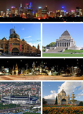Melbourne montage six frame infobox jpg