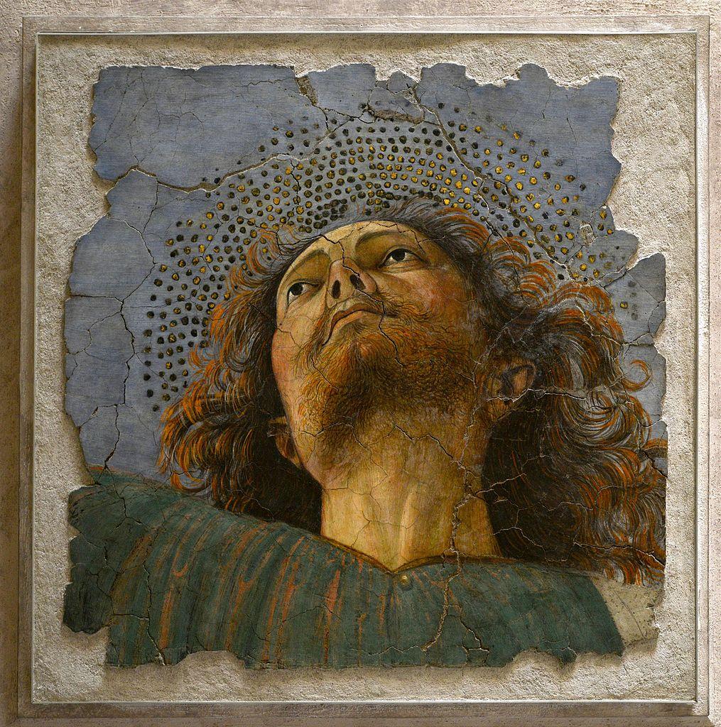 > Musées du Vatican : «Apôtre» (1480) de Melloso da Forli à la Pinacothèque vaticane – Photo de Alvesgaspar