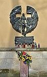 Memorial of Ukrainian Holodomor (Great Famine) 1932–1933, Planty Garden, Old Town, Krakow, Poland.jpg