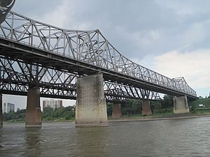 Memphis & Arkansas Bridge - Image: Memphis Arkansas Bridge Memphis TN 2012 07 22 016