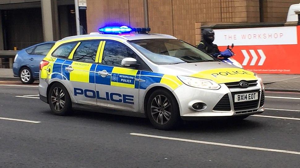 Met Police Response Car