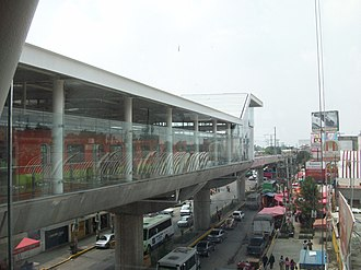 Metro Culhuacán - The platforms