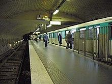 Porte Dauphine Metro Paris Wikipedia