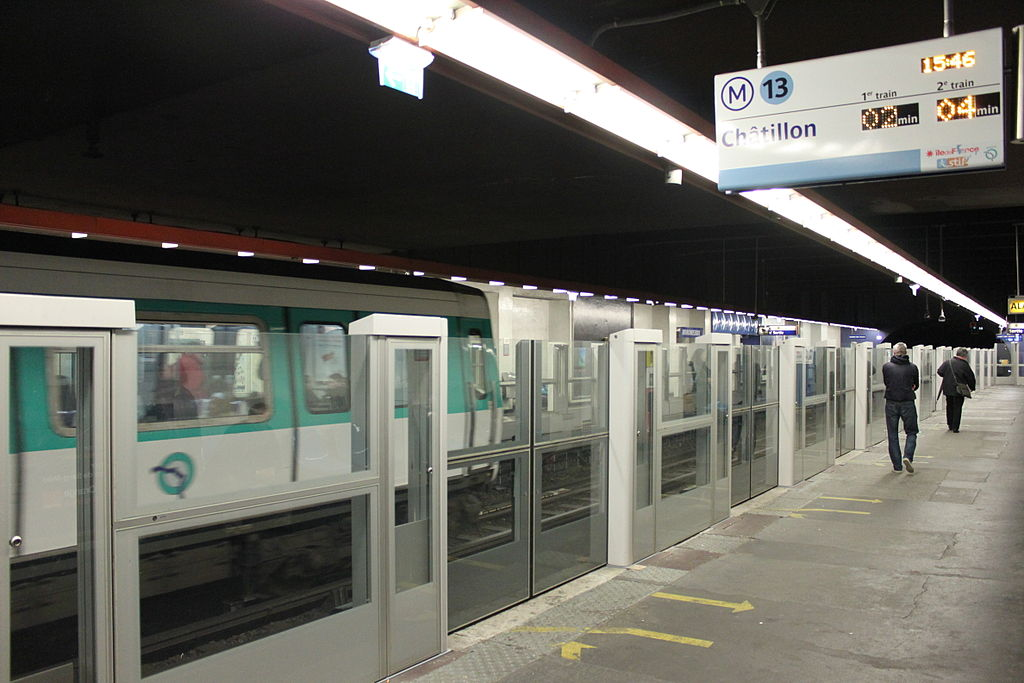 File Metro De Paris Line 13 Miromesnil Platform