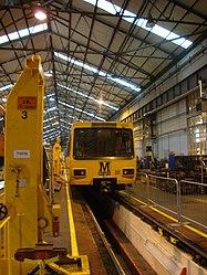 Metrocar 4028, Tyne and Wear Metro depot open day, 8 August 2010.jpg