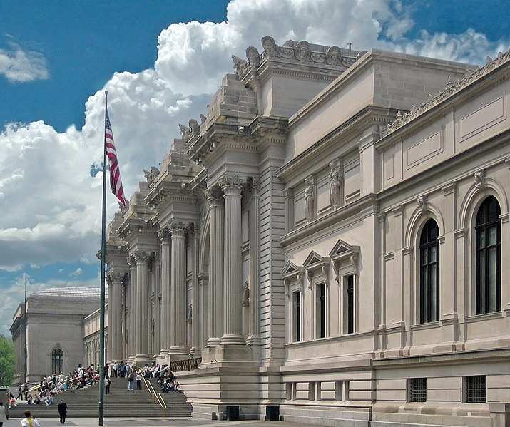 File:Metropolitan Museum of Art entrance NYC.JPG