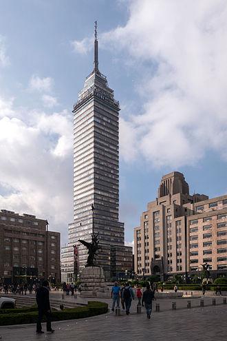 Torre Latinoamericana - Torre Latinoamericana in July 2015