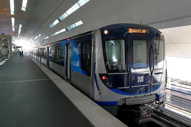 File:Miami Metrorail Hitachi train 20190117.jpg