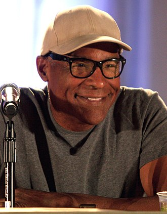 Gowron - Robert O'Reilly praised Gowron's relationship with Worf, played by Michael Dorn (pictured).