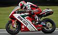 Michael Rutter - 1098 Ducati - Snetterton (5584778839).jpg