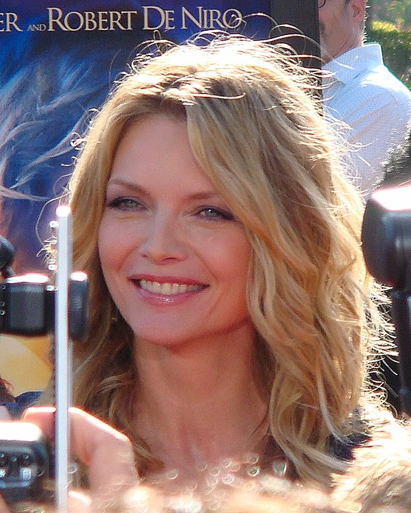 Photo Michelle Pfeiffer via Wikidata