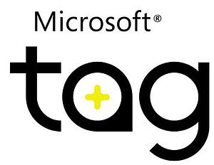High Capacity Color Barcode - Microsoft Tag logo indicating compatibility