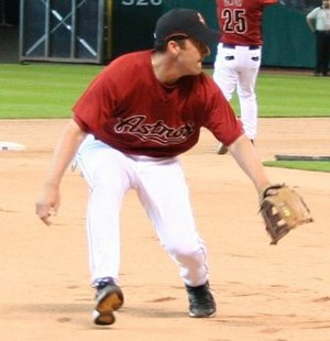 Mike Lamb - Lamb with the Houston Astros