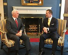 Greitens Meeting With Vice President Mike Pence January