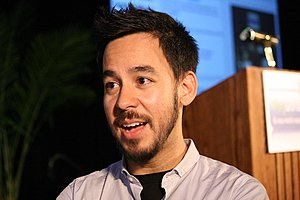 Meteora (album) - Mike Shinoda (pictured) is said to be included in the writing of all the songs.